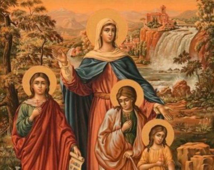 30 сентября в День памяти Веры, Надежды, Любови и матери их Софии в церкви поставлю две свечи, а одно принесу домой. Это поможет мне обеспечить в доме спокойную атмосферу