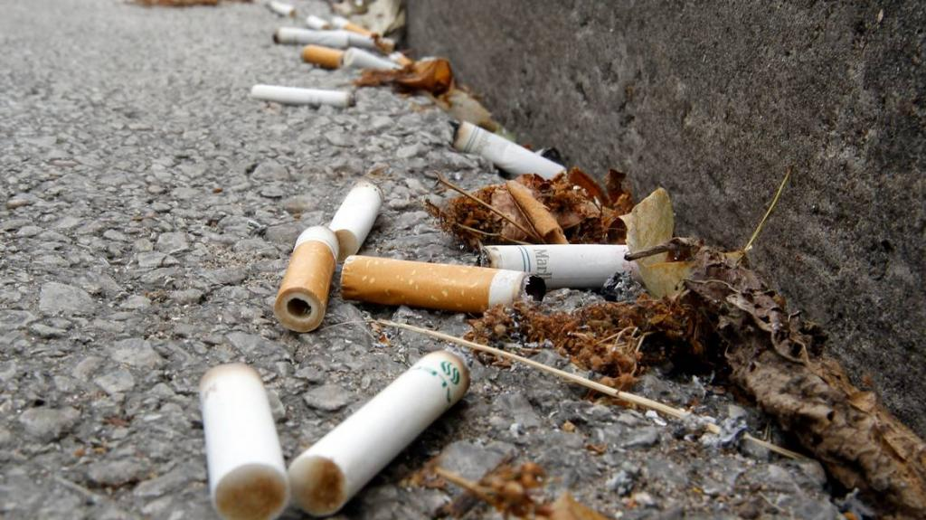 Ученые придумали, куда девать бесполезный мусор, который есть в каждом уголке планеты (окурки будут использовать в строительстве)