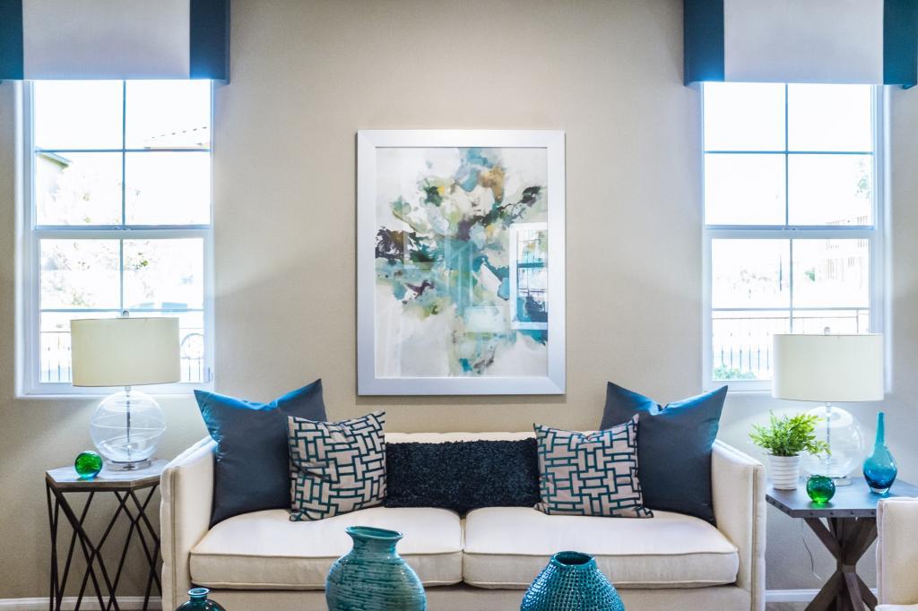 Дизайн мечты: 6 примеров, почему скандинавский стиль сине белого декорирования считается самым выигрышным