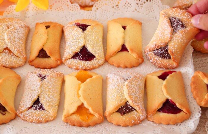 Семейный рецепт песочного печенья с начинкой, проверенный не одним десятком лет: если правильно хранить, вкус не теряется в течение недели