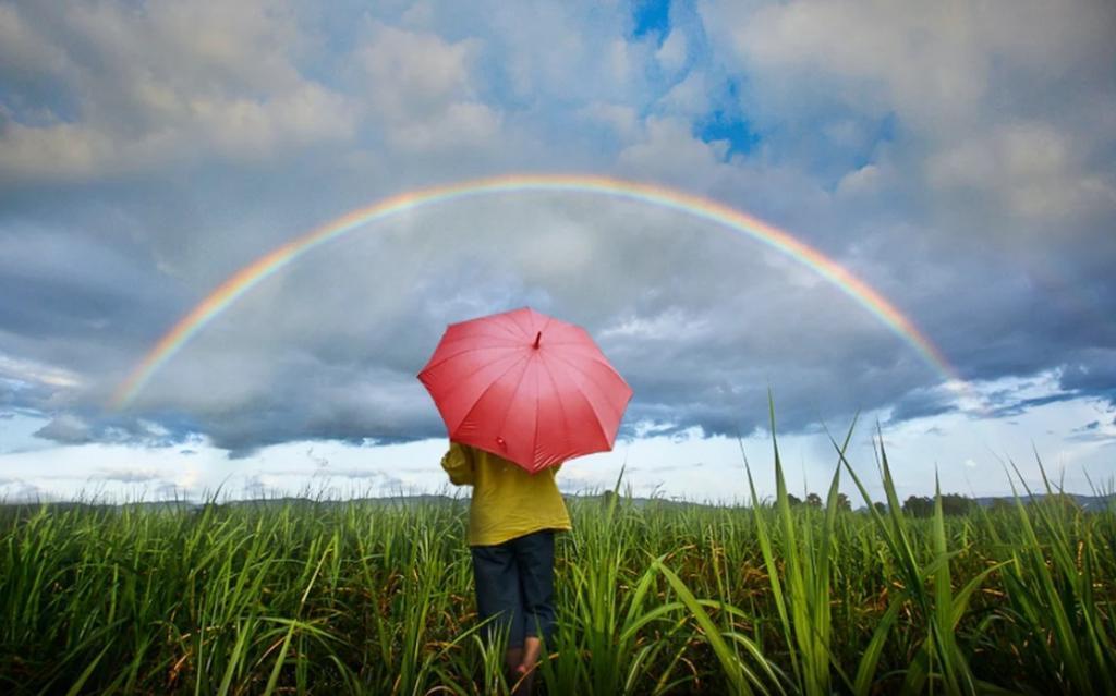 Увидела во сне радугу на небе - через неделю предзнаменование сбылось (у меня случился новый яркий роман)