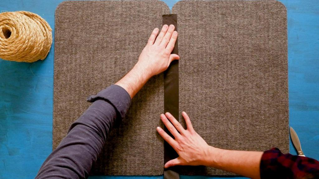 Из двух дешевых входных ковриков сделали дома один большой в стиле бохо. Смотрится великолепно, и в продаже такого не найти