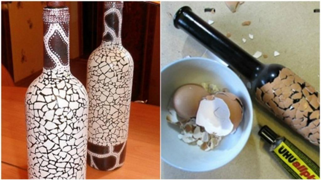 Никто не верит, что я делаю мозаичные украшения из скорлупы. Это очень просто: краситель, клей и лак