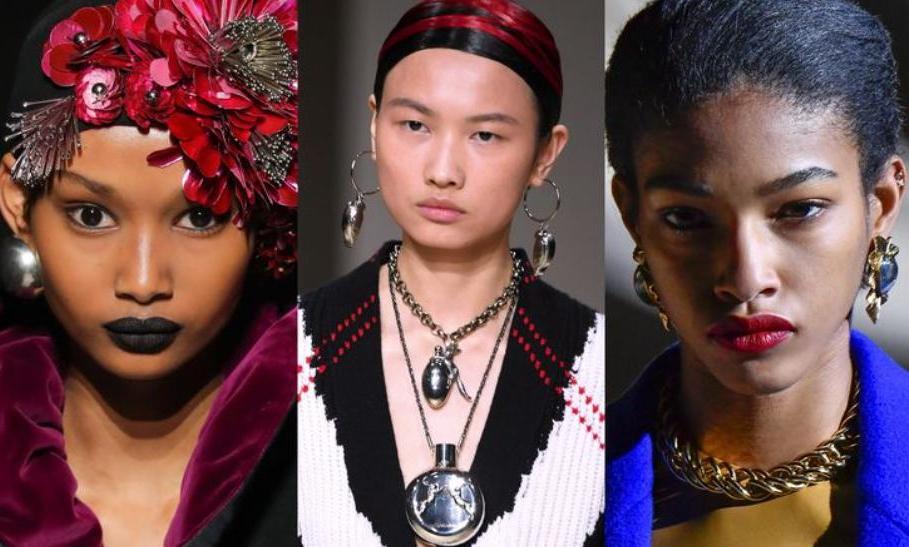 Массивные серьги из 80-х годов: модная бижутерия на осень 2020 года