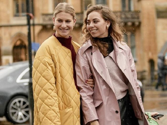 Стёганое пальто свободного кроя станет главным трендом осени