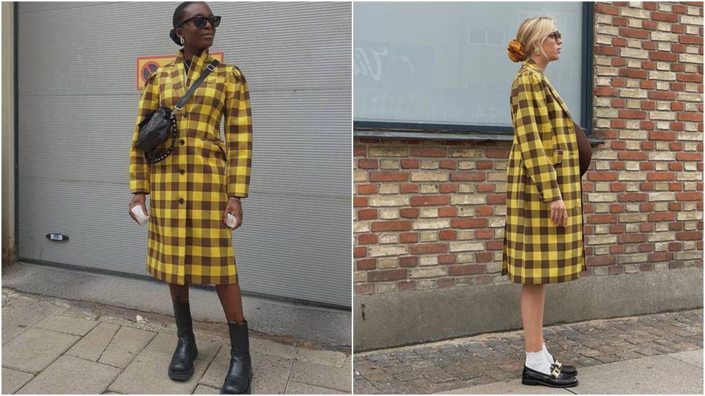 Культовые предметы гардероба на осень 2020: сумки с очень длинными хвостами и клетчатые пальто (прохожие точно будут поворачивать головы вам вслед)