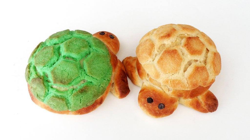 Черепаший хлеб: рецепт сладкого мучного блюда в виде милого животного