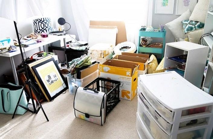 Как организовать пространство в доме: подобные предметы сложить вместе