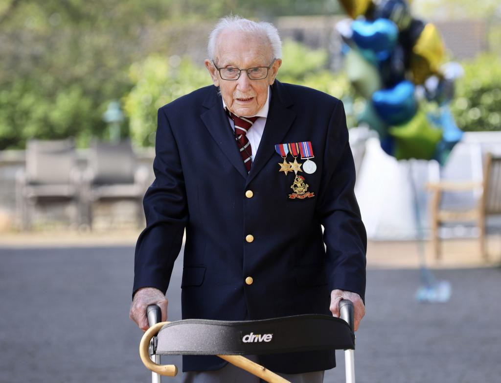 100-летний ветеран войны собрал 30 миллионов фунтов стерлингов на благотворительность: о неповторимом сэре Томе Муре снимут фильм