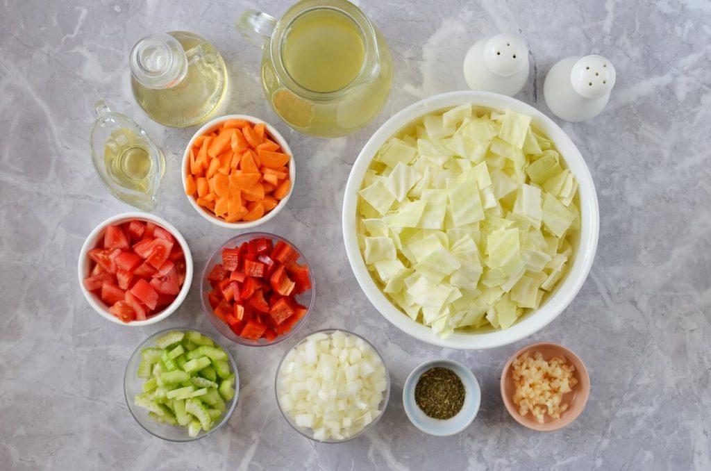 Готовлю на обед жиросжигающий капустный суп за 25 минут. Пошаговое приготовление с фото