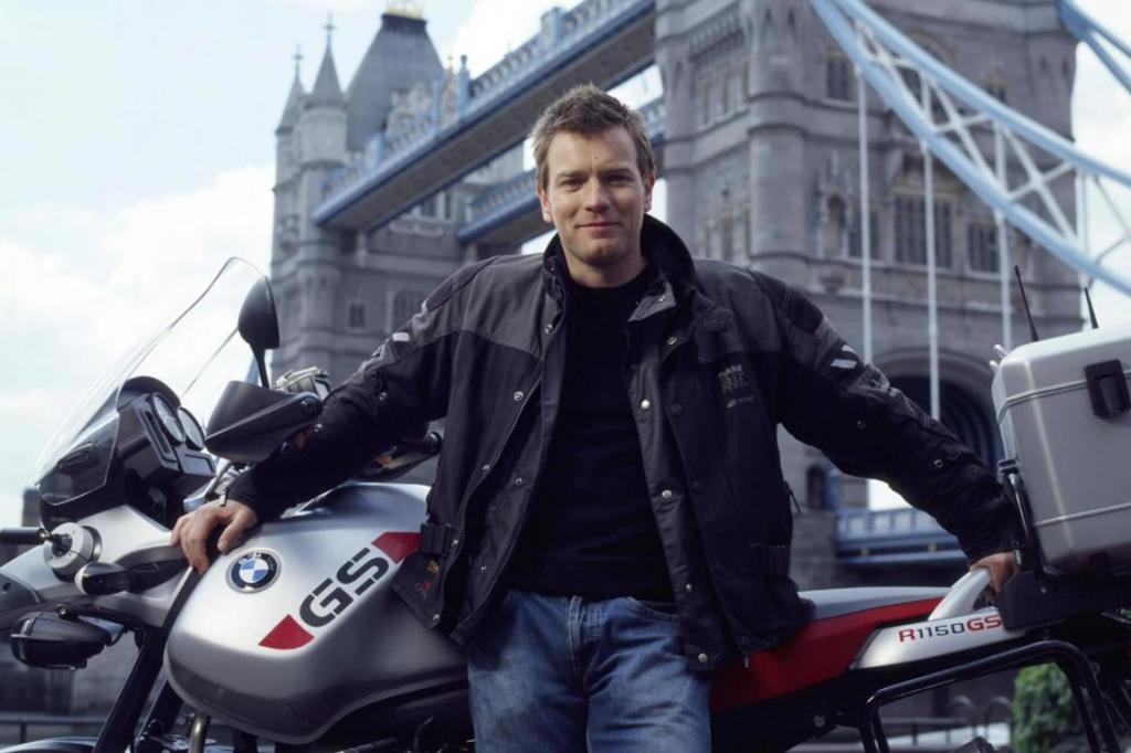 """Эван Мак-Грегор рассказал о своей страсти к мотоциклам: на съемках """"Мулен Ружа"""" голливудский актер выпросил у режиссера разрешения приезжать на работу на мотоцикле"""