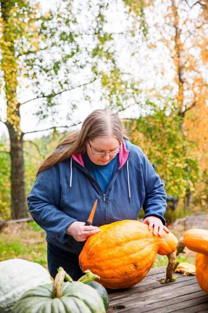 Вырастить легко!: Ева добилась колоссального урожая тыкв и поделилась советами