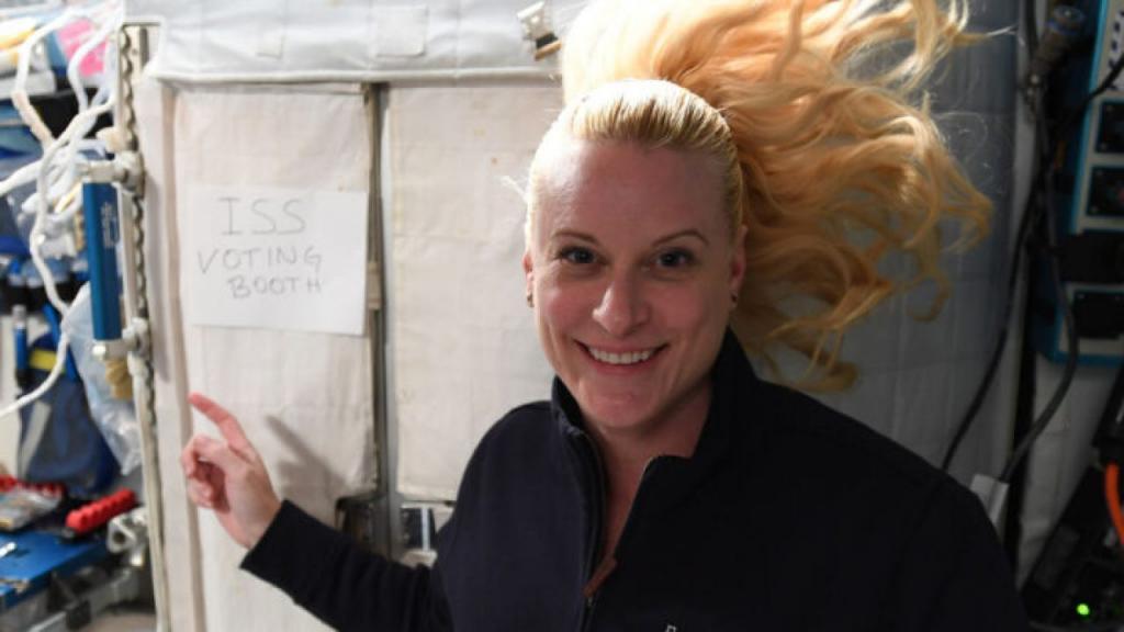 Астронавт НАСА проголосовала на выборах президента США из космоса