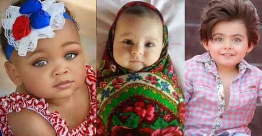 Подборка самых красивых деток мира – разнообразные национальности