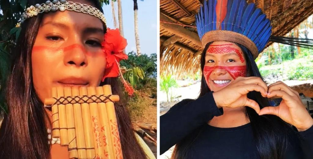 Молодая амазонка мгновенно стала популярной в Тик Токе благодаря своей национальной культуре и творчеству