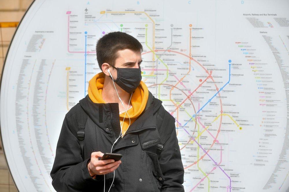100 % станций: в московском транспорте усилят контроль за ношением масок и перчаток