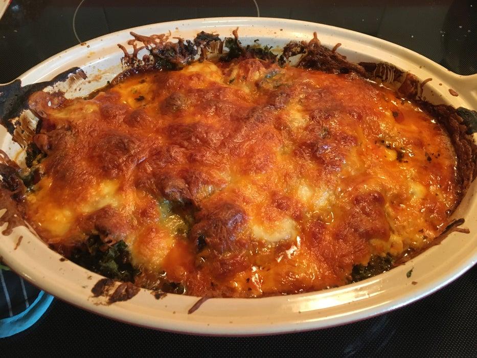 Сочная запеканка с капустой и куриными сосисками: накормит всю мою семью