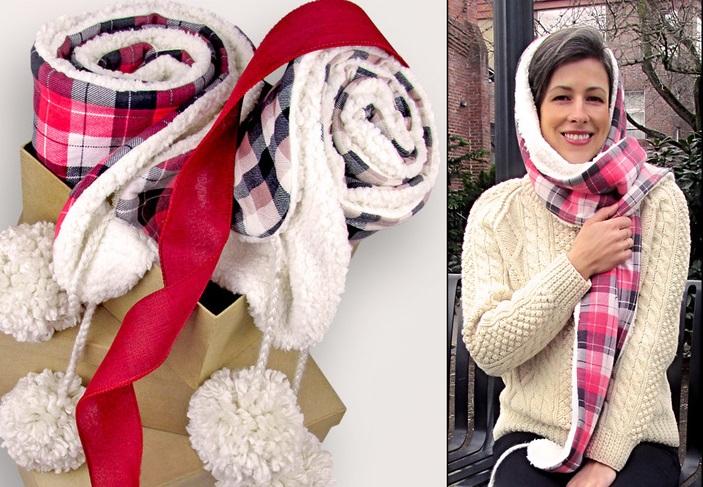 Делаем теплый зимний шарф своими руками: он очень уютный и мягкий