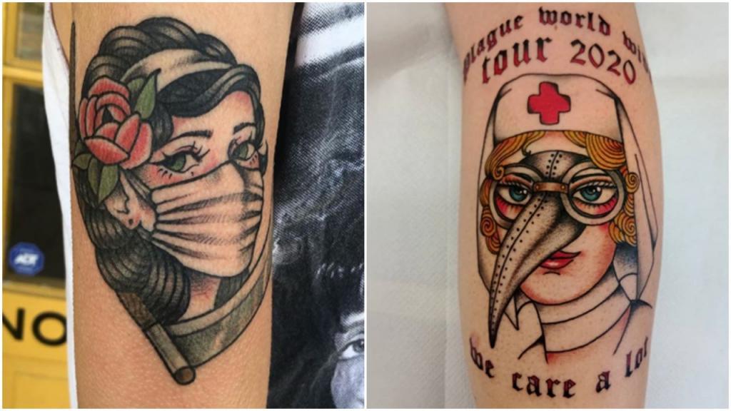 Эти люди решили увековечить COVID-19: лучшие и худшие татуировки на тему коронавируса