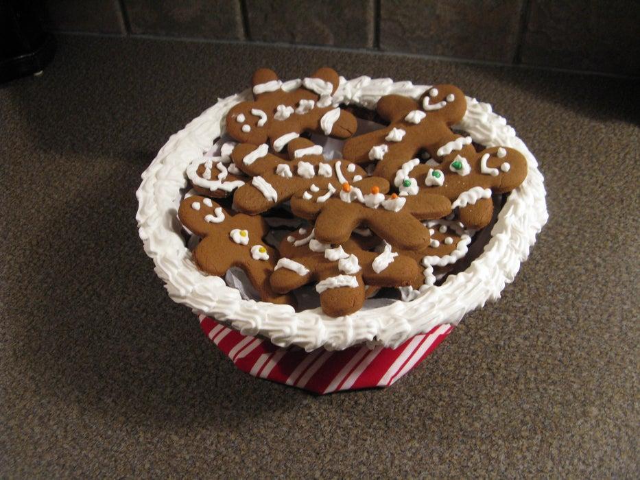 Съедобная миска для печенья: если лакомства закончатся, можно подкрепиться посудой