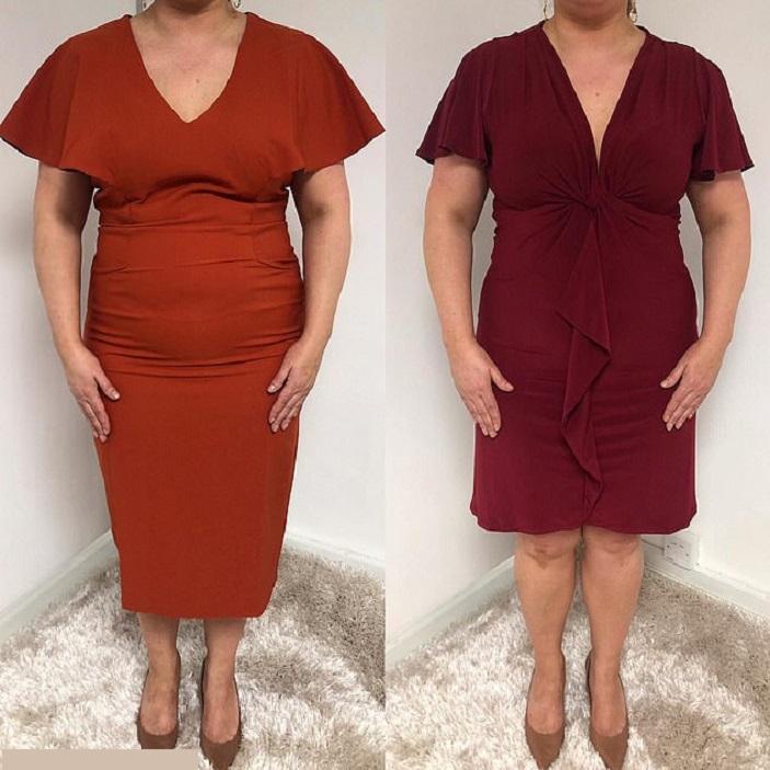 Женщина придумала модели платьев, которые визуально убирают 5 кг, и разбогатела