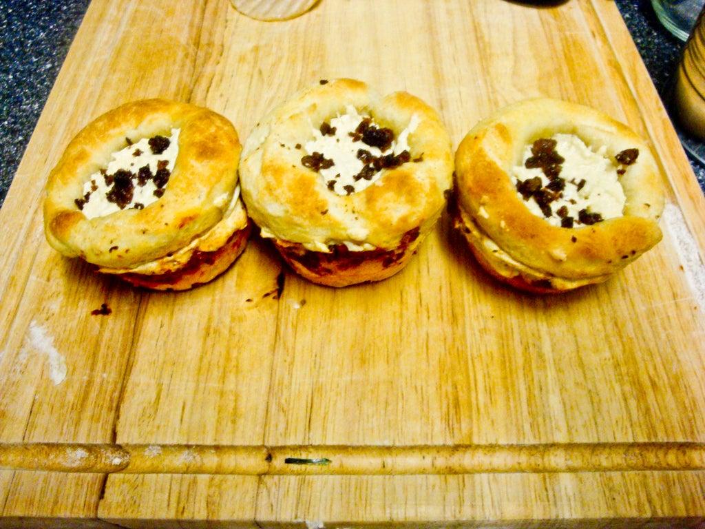 Пицца в виде кексиков: необычная и запоминающаяся закуска для ваших гостей