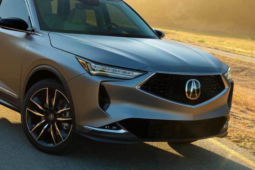 Смелый дизайн: Acura раскрыла подробности о кроссовере MDX нового поколения Acura MDX Prototype