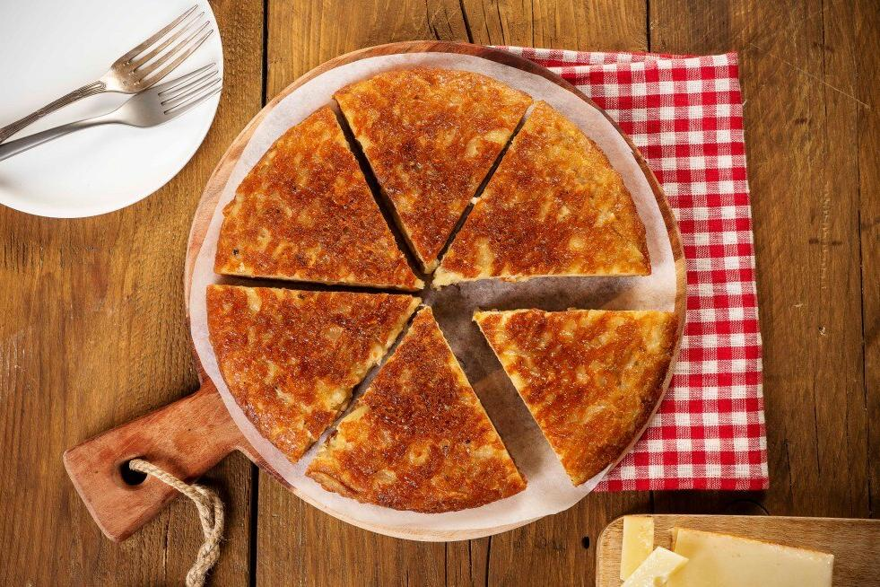 Как приготовить Фрико - блюдо из запеченного сыра с картофелем. Простой и легкий в исполнении рецепт