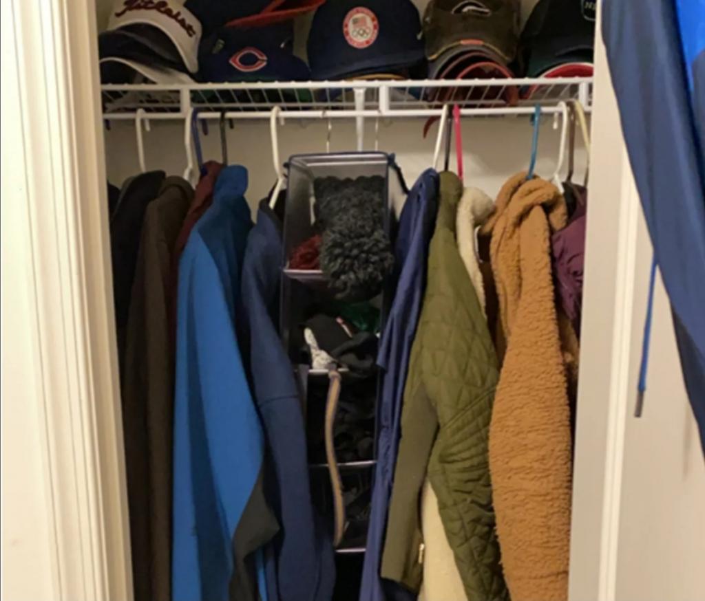 Теперь мой шкаф красив не только снаружи, но и внутри: лайфхак с полкой из пенопласта