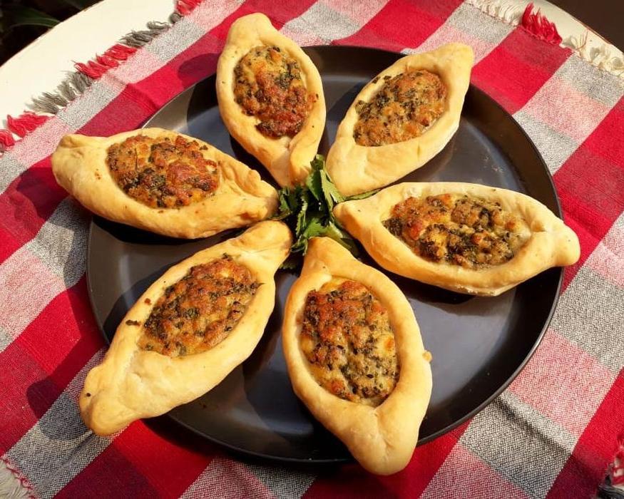 Арабские пирожки с сыром и мятой: периодически балую ими свою семью по выходным