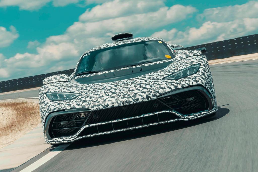 Выпустят всего 275 экземпляров: гиперкар Mercedes-AMG One получит мощность 1200 лошадиных сил