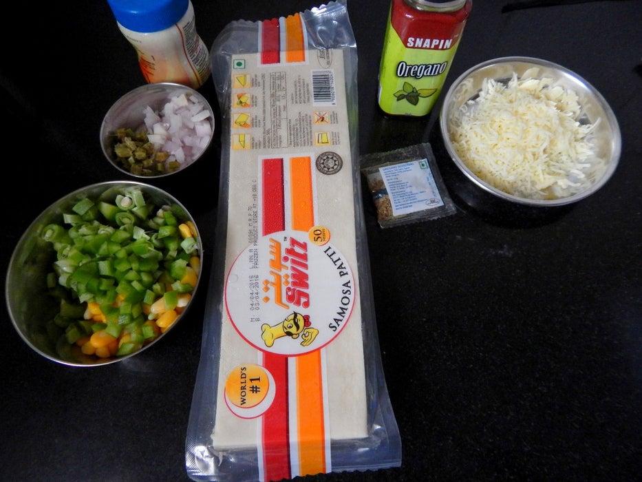 Хрустящая закуска на вечеринку: готовим конвертики с овощами