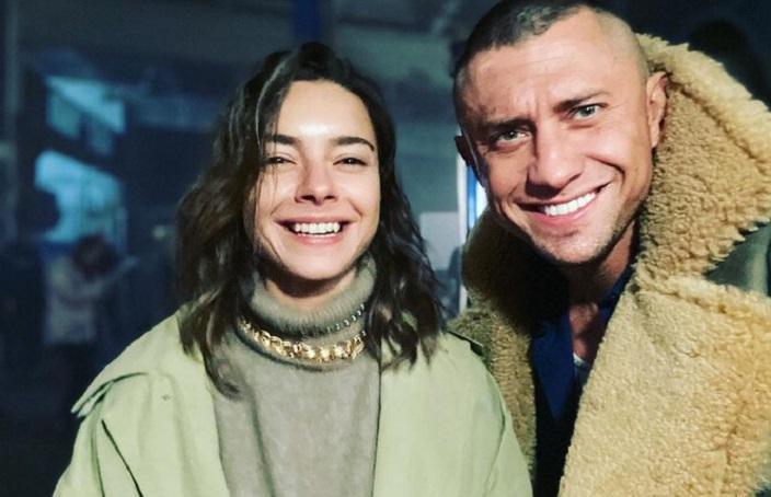 Ответочка Агате?: Прилучный опубликовал фото с новой партнершей по сериалу