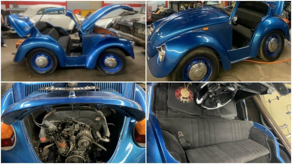 VW Beetle: единственный в своем роде «обрезанный» кабриолет поражает воображение, и хозяин продает его за 00