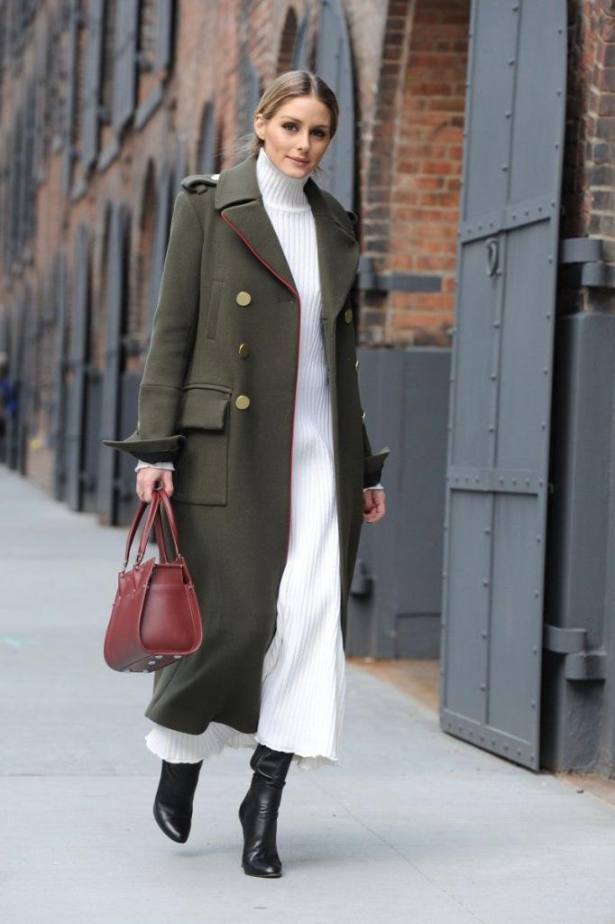 Для любителей стиля милитари: в этом сезоне в моде шинель и мундир вместо пальто (фото)