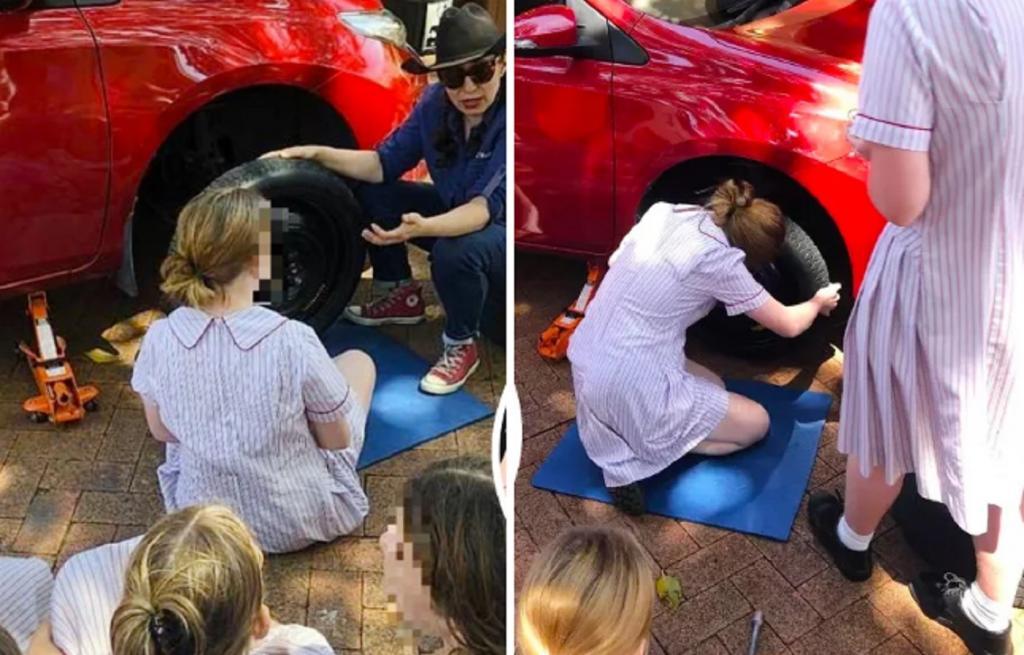 В Австралии девочек учат ремонтировать автомобили, чтобы они могли ни от кого не зависеть в будущем