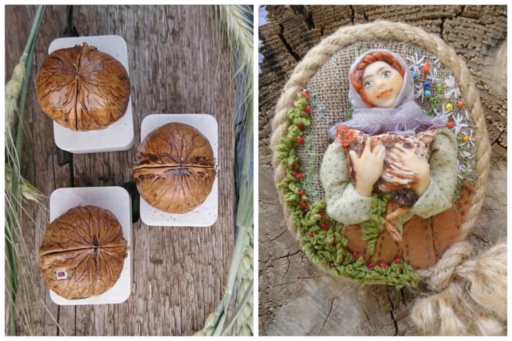 Сказочный микромир в каждой шкорлупе грецкого ореха: работы девушки из Казани