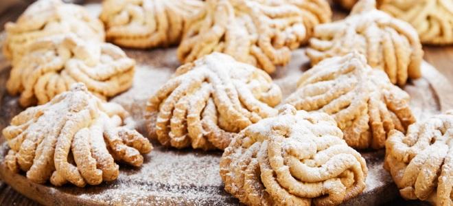 """Печенье """"Хризантема"""" – идеальная выпечка"""