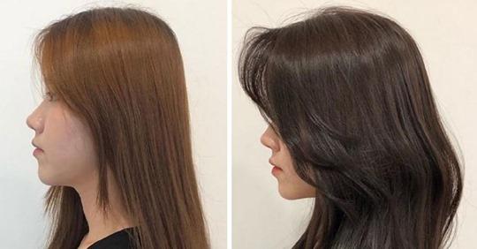 Парикмахер из Кореи показывает, как объем прически сразу меняет образ
