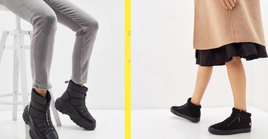 4 пары зимней обуви, которые уже очень стыдно носить