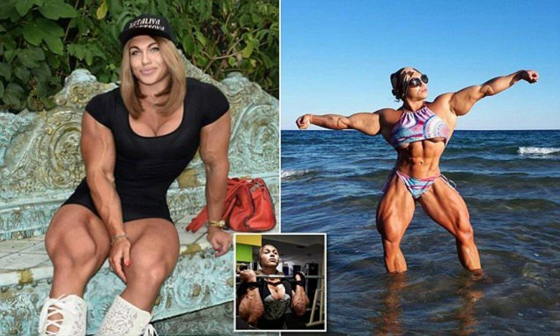 Такая женственная. Бодибилдерша Кузнецова опубликовала фото в мини и на высоких каблуках