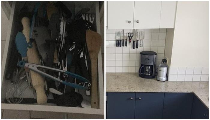 Ложкам не место между вилками и ножами: австралийки показали свои кухонные ящики