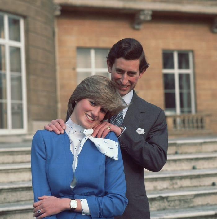 10 фотографий о том, как изменялись взаимоотношения Дианы и Чарльза