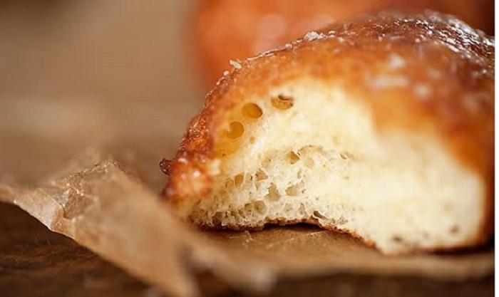 Напекла пончиков из остатков картофельного пюре. Получились такие нежные и хрустящие