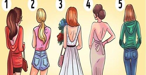Какая девушка кажется вам более привлекательной до того, как развернется? Узнайте, что ваш выбор может сказать о вас