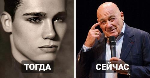 Как в молодости выглядели известные отечественные шоумены и телеведущие, которых знает вся страна