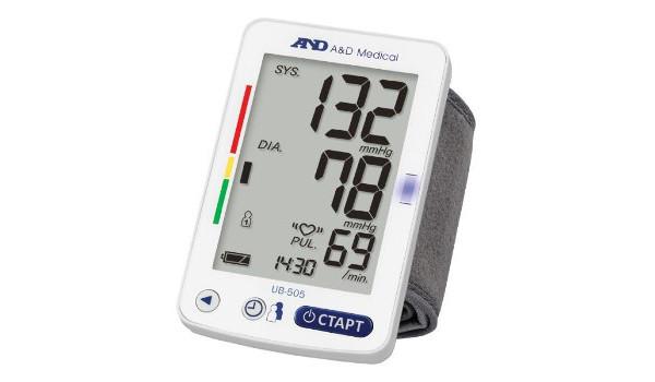 Тонометр на запястье AND – простой и компактный прибор для измерений давления