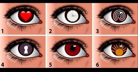 Тест: выберите глаз, и загляните в своё подсознание