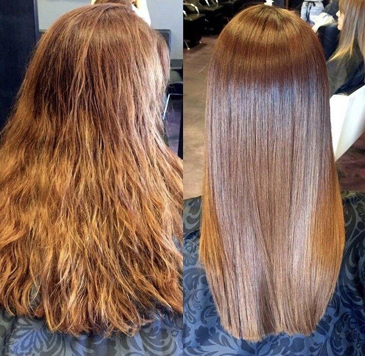 Парикмахер из США придумала новую уходовую процедуру для волос Vegan Blowout: выпрямляются даже самые непослушные