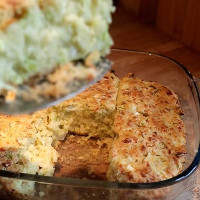 Дешево и вкусно: из капусты, молока и сыра готовлю полезный пирог